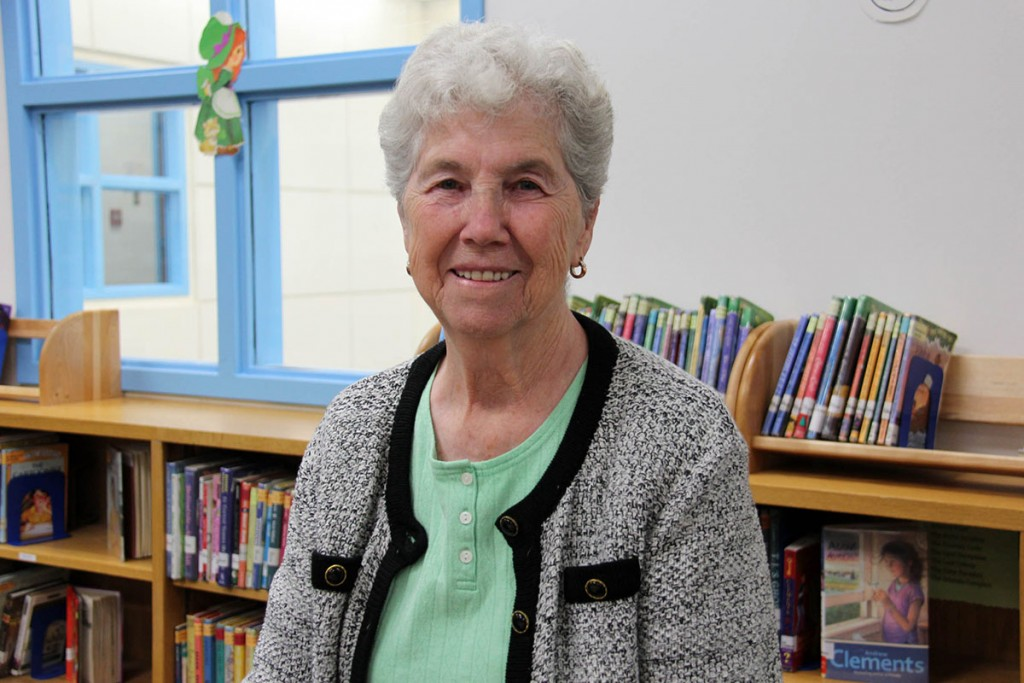 Image of Landstown Elementary volunteer Ruth Hargrave