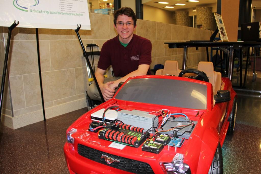 LandstownHS electric car boy