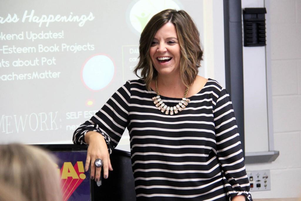 Teaching at Alma Mater