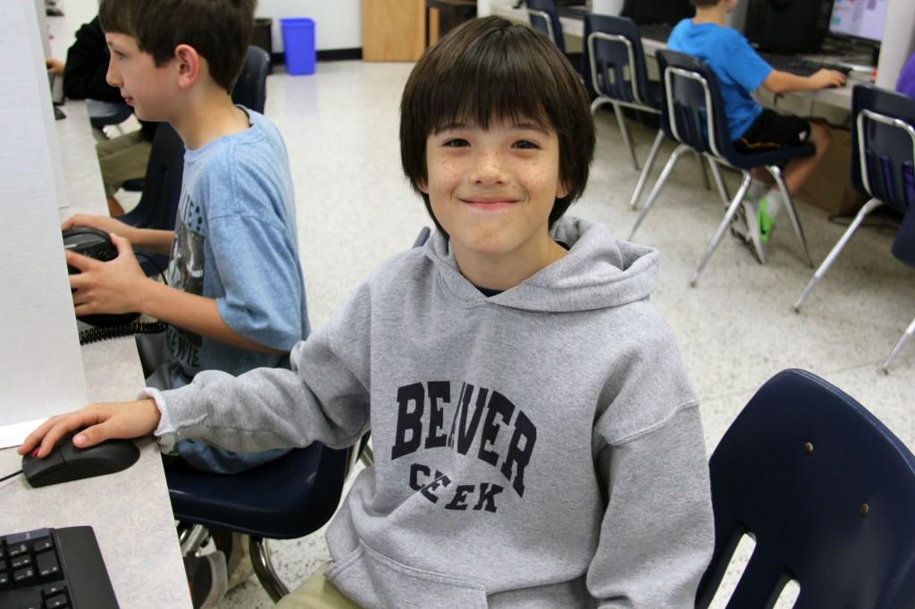 Trantwood ES lacrosse boy