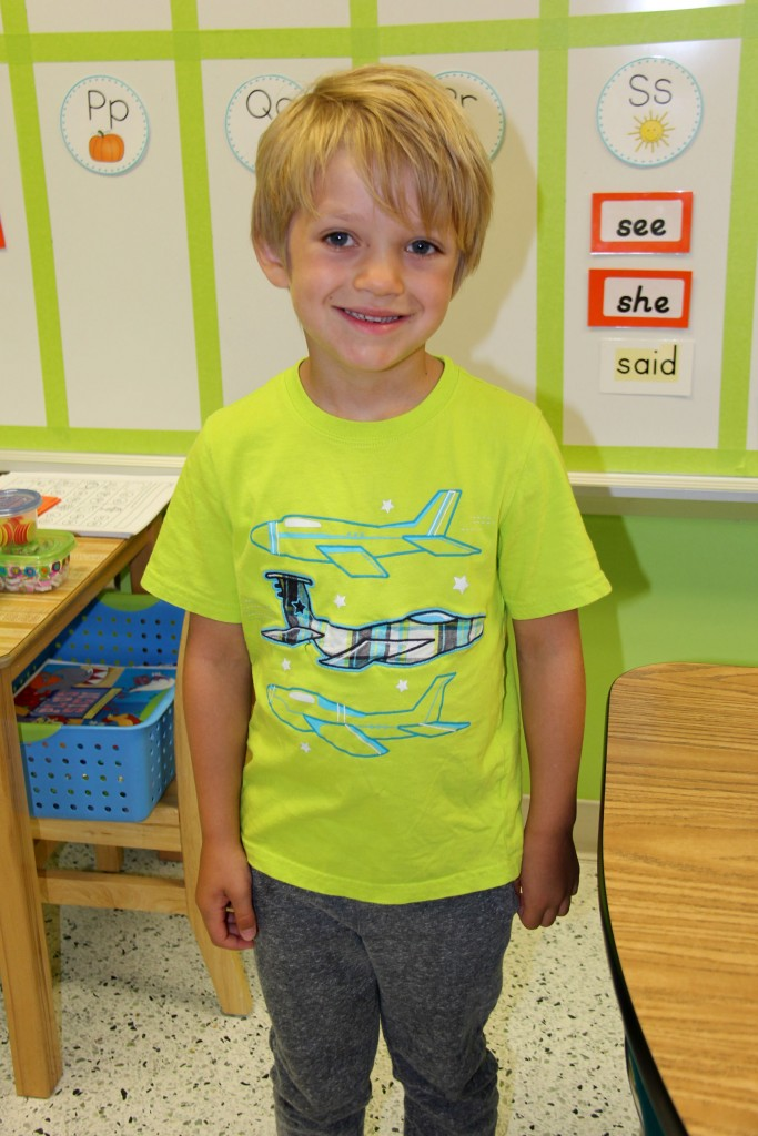 Paxton So Much To Say TOES Kindergarten