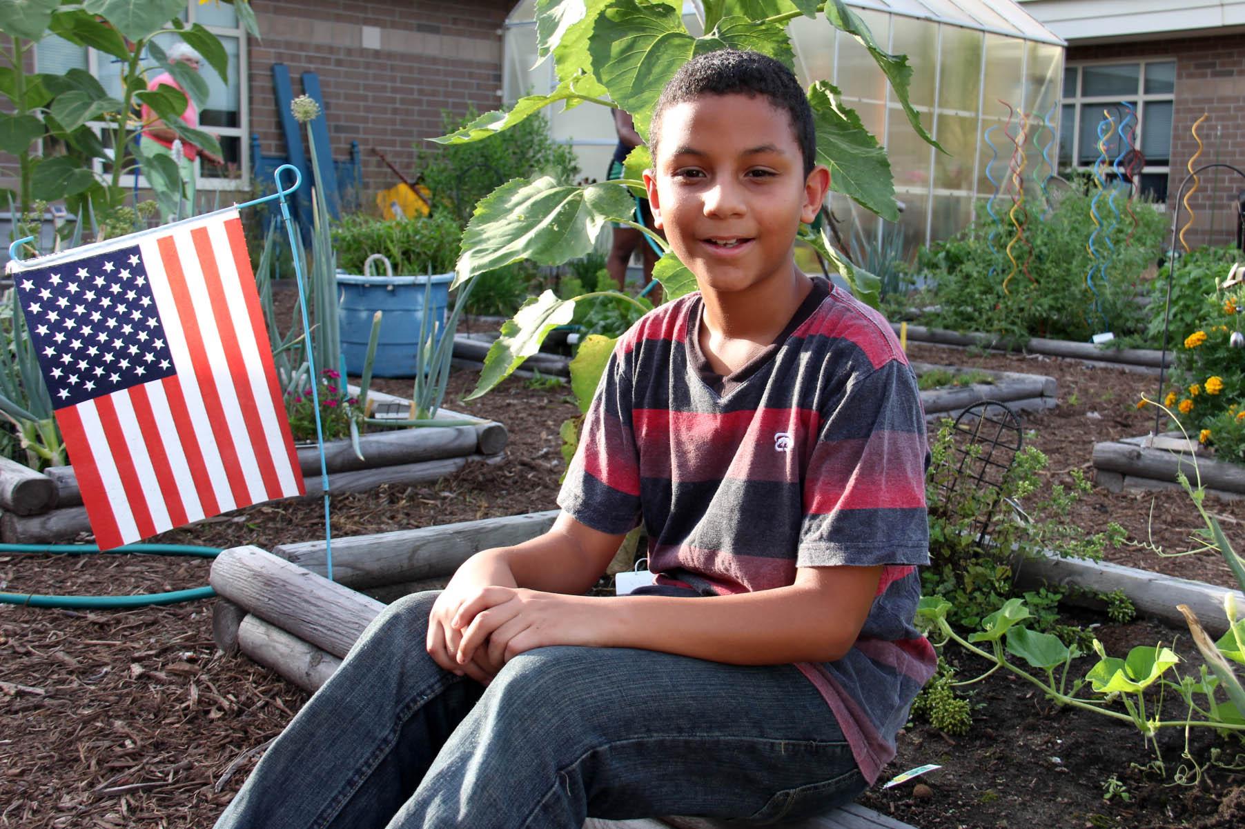 Garden Seatack alum 7th grader 2016-08-10