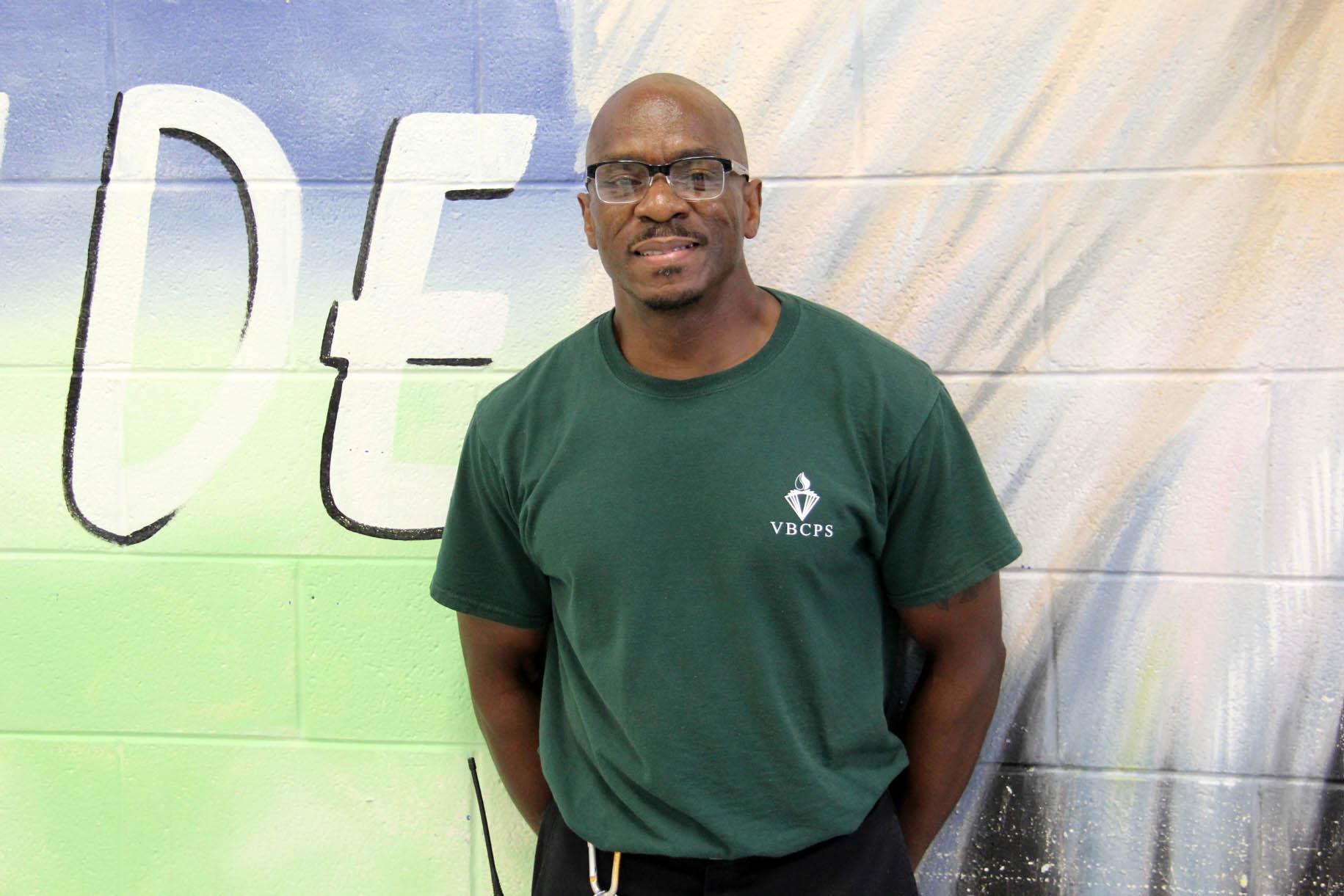 Williams custodian Jimmy Scurry 08-29-16